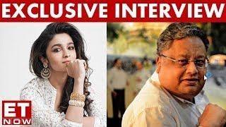 Rakesh Jhunjhunwala In An Exclusive Interview With Alia Bhatt | ET NOW Exclusive