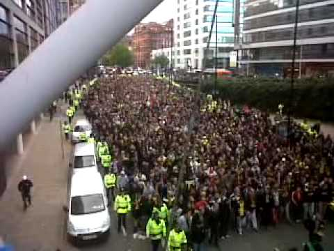 Dortmund Fans Youtube Dortmund Fans in Manchester