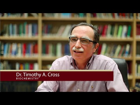 FSU Chemistry Department Faculty Interview - Dr. Timothy Cross