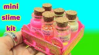 Diy Mini Slime Kit - Làm Slime Bằng Mini Slime Kit - đồ chơi trẻ em
