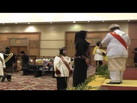 Istiadat Penganugerahan Darjah Kebesaran Mahkota Palembang Part 2