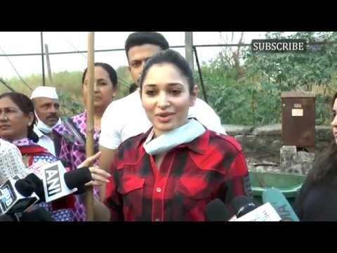 Tamannaah Bhatia lends support to Swachh Bharat campaign