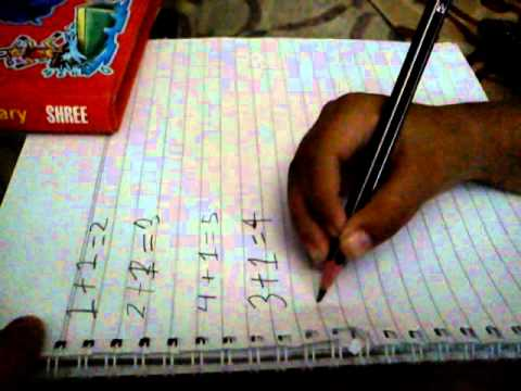 Sasmit Gupta, 6 Year Old Working On Maths Of His Standards( Ukg) Part 2 video