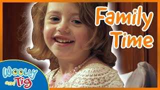 Woolly and Tig - Family Wedding | Family Time | TV Show for Kids | Toy Spider