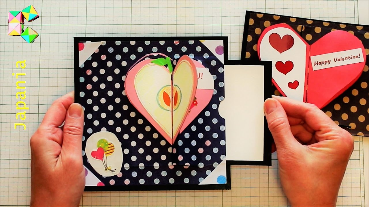 Как сделать раскрывающуюся открытку