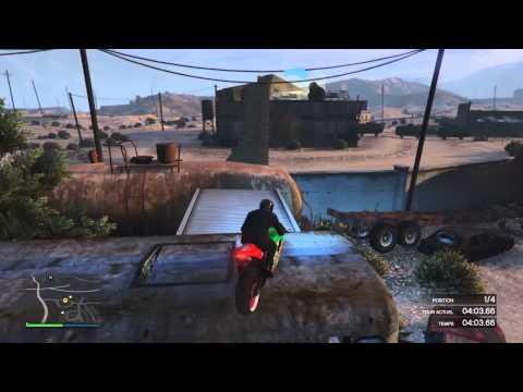 Grand Theft Auto V Gaza Race