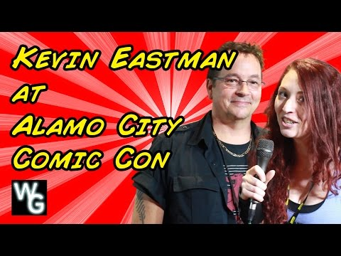 Kevin Eastman at Alamo City Comic Con