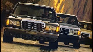 1987 the full model lineup Mercedes-Benz for USA market - w201, w124, w126, w107