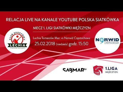 I Liga Siatkówki Lechia Tomaszów Maz - Norwid Częstochowa