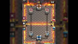 BEST attack CLASH ROYALE - limit hitpoin (2star)