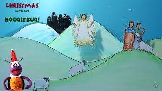 Christmas with the Boogiebug | WHILE SHEPHERDS WATCHED | Preschool Christmas Songs
