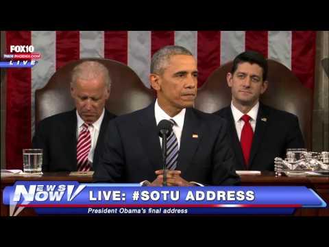 FULL President Obama Last State Of The Union Address #SOTU