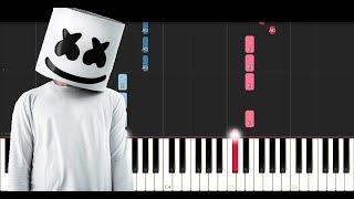 Marshmello Ft Leah Culver Fly Piano Tutorial