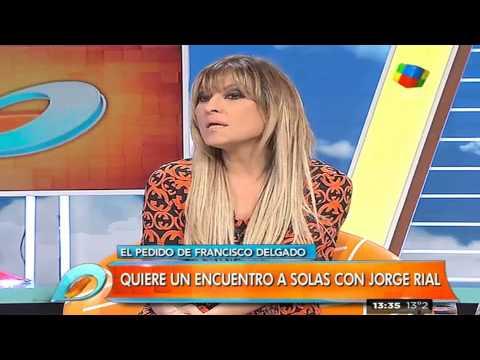 """""""Gran Hermano 2015"""": El extraño pedido de Francisco Delgado a Jorge Rial"""
