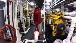 HOS Black Foot Launch, Sea Trials & Interior