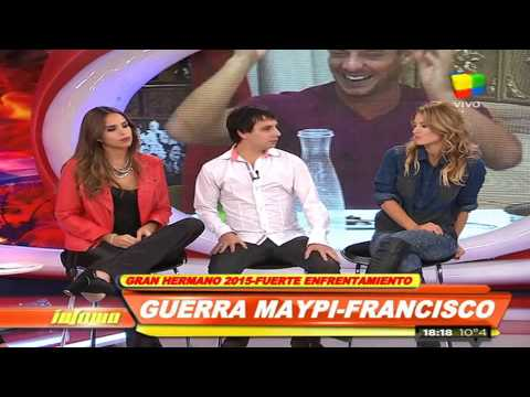 Francisco y su pelea con Maypi: Me traicionó