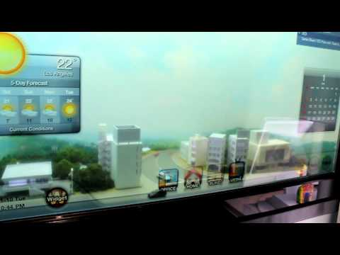 CES 2012: Transparent Samsung Smart Window