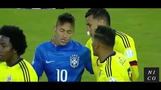 Copa America 2015 - Brazil vs Colombia (0/1) All goals and highlights