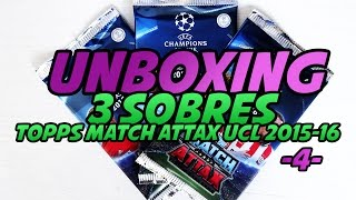 UNBOXING: 3 Sobres Topps Match Attax UCL 2015-16 -4-