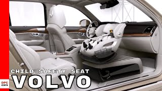 Volvo Excellence Child Safety Seat Concept & Inflatable Child Seat