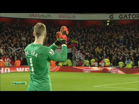 David De Gea Vs. Arsenal 14-15 [Away] [HD 720p]
