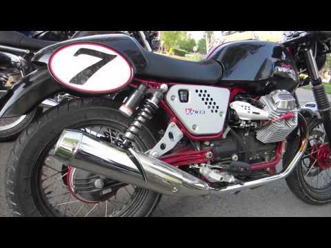 2012 Moto Guzzi V7 Racer -- USA Bike #2
