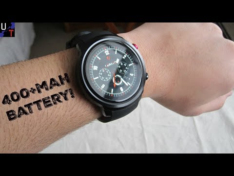 LEMFO LEF2 Android Smartwatch Unboxing & 1st Impressions!