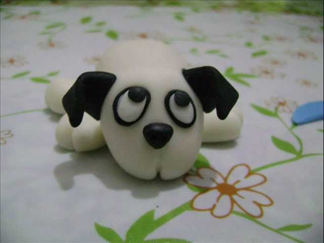 Porcelana fria, como hacer un perrito?