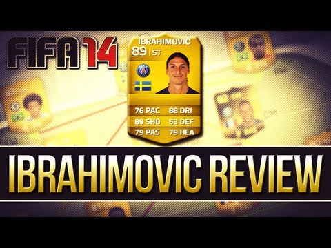FIFA 14 Ultimate Team -  89 Ibrahimović Player Review!