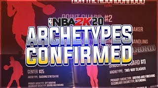 NBA 2K20 DUAL ARCHETYPE SYSTEM CONFIRMED!