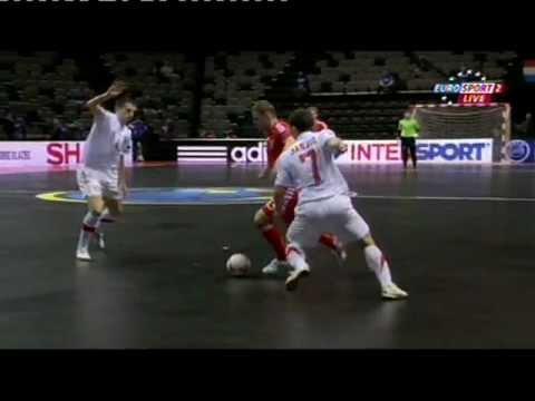 Rusija : Srbija 2:1 (0:0) - UEFA Futsal Euro Croatia 2012