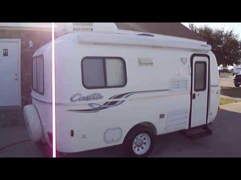 Casita Travel Trailers are great light weight RVs that can be pulled by small cars!