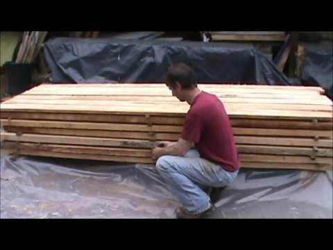 how to build a solar kiln