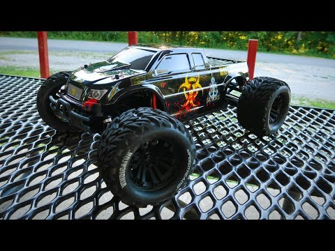 Upgraded Horizon Hobby Force RC Outbreak Bashing - TheRcSaylors