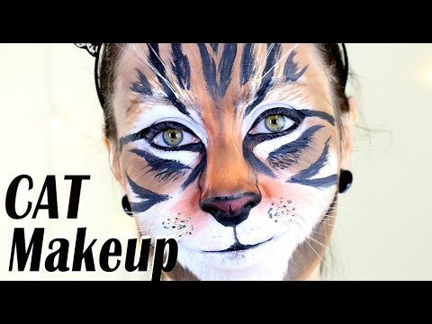 Realistic CAT Makeup Tutorial | Halloween 2014