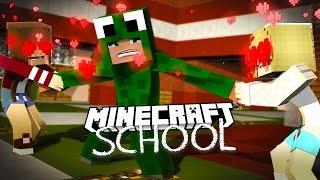Minecraft School - GIRLS ARE FIGHTING OVER LITTLE LIZARD!
