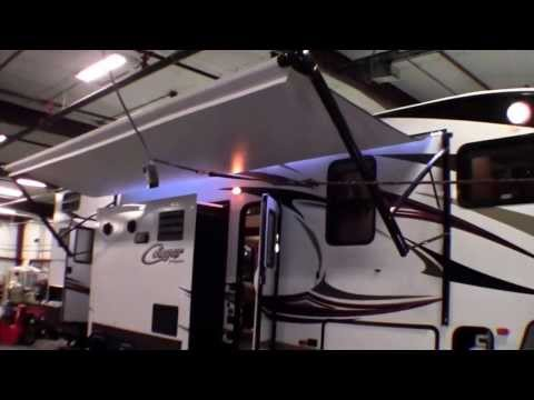 2014 Cougar 334RDB Bunk House fifth wheel with Automatic Leveling Jacks!
