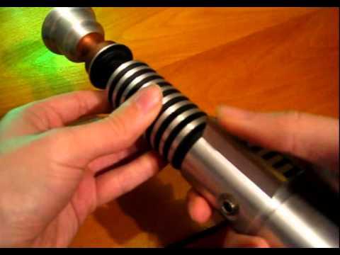 Star Wars ROTJ Lightsaber Working Replica (Prodigal Son - Saber Forge)