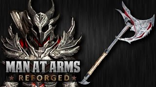 Daedric Axe (Elder Scrolls) - MAN AT ARMS: REFORGED
