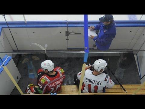 Курьёз на хоккее