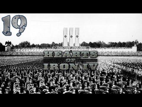 Hearts Of Iron IV - Rzesza Niemiecka #19 - Irlandia (Gameplay PL)
