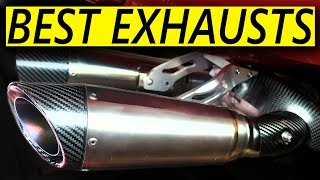 Top 7 BEST Aftermarket Exhausts for Motorcycles