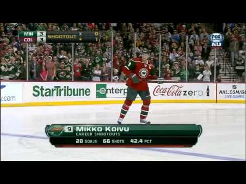 Minnesota Wild vs. Colorado Avalanche | Shootout | 02.14.2013