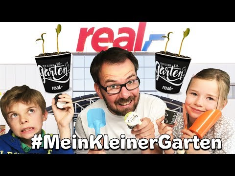 REAL SHOPPING HAUL - Mein kleiner Garten -  mit Lulu & Leon - Family and Fun *Werbevideo