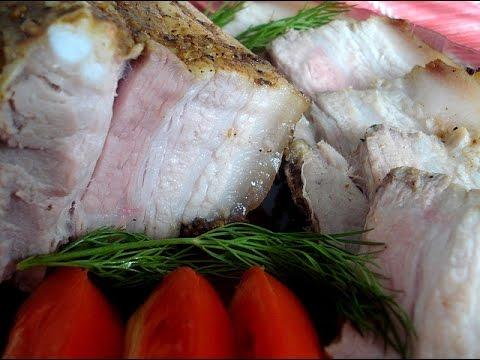 Варёная грудинка в домашних условиях из свинины в