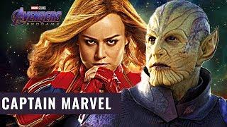 Avengers 4 Endgame Countdown: Captain Marvel