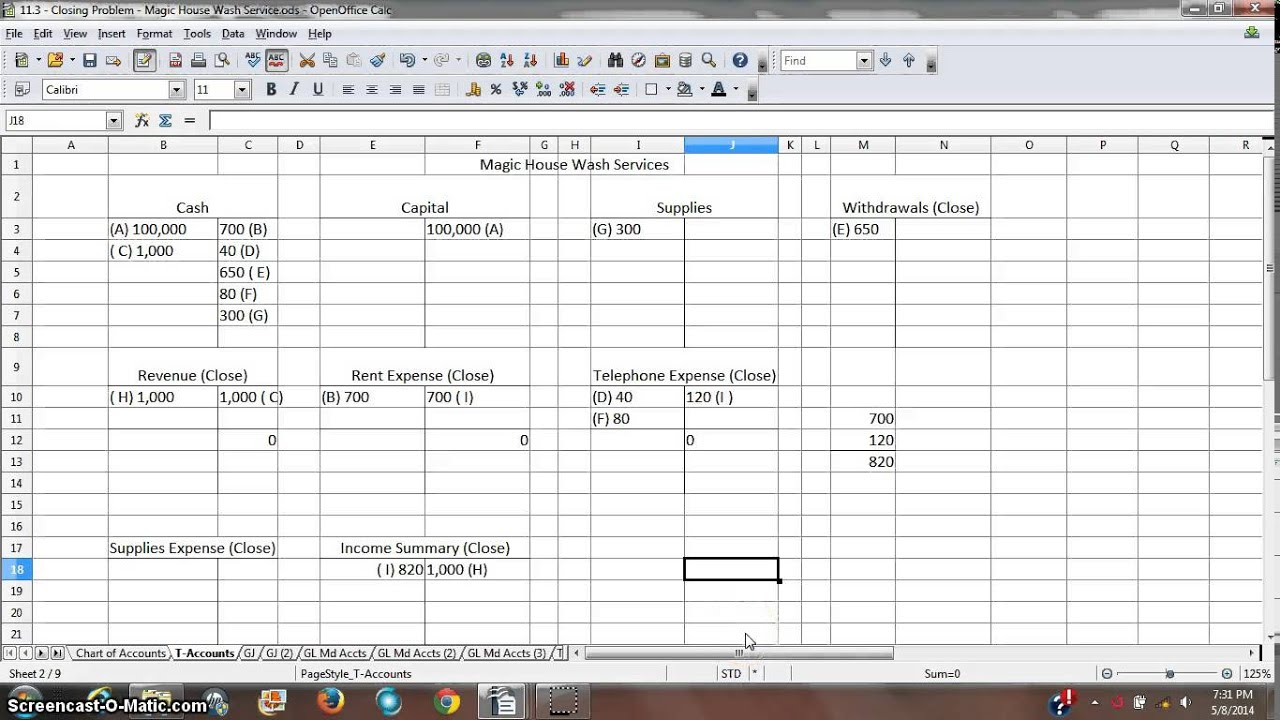 Excel Accounting Template Download