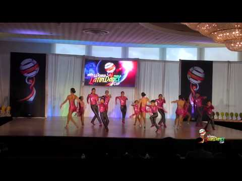 BAILA CONMIGO & JOANNA VASQUEZ, NEW JERSEY, SALSA TEAM, FINAL ROUND, WLDC 2014