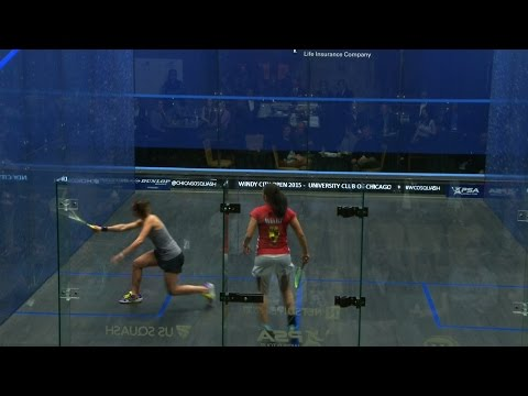 Squash: Windy City Open 2015 Round Up : Women's Semi-finals video