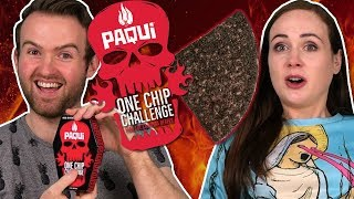 Irish People Try The Paqui One Chip Challenge